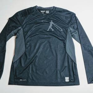 Nike Pro Combat Fitted Griffey Swingman L/S shirt